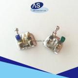 歯科矯正学の金属ブラケット-レーザーのマークの溶接網
