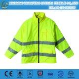 Высокая куртка безопасности in-1 видимости 4 отражательная