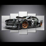 HD Impreso Mustang RTR coche de pintura de impresión de la lona Decoración de la habitación Impresión Cartel Imagen lienzo Mc-043