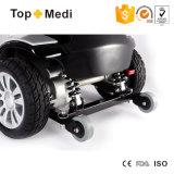 4つの車輪の反車輪が付いているFoldable電気移動性のスクーター