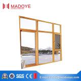 Fenêtre à battant vitrée avec cadre en aluminium