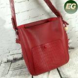 Il coccodrillo all'ingrosso delle borse delle donne di modo tende i sacchetti di spalla del Tote 2PCS nell'insieme per la signora Sy7788
