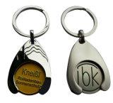 Metal promocional Keychain de las compras de la alta calidad del regalo