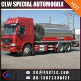 caminhão da distribuição do asfalto do caminhão de petroleiro do asfalto de 6X4 HOWO 10m3