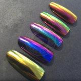 Scintillement ambre de poudre de colorant de perle d'art de clou de caméléon de couleur