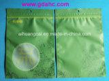 Bolso lateral del alimento del regalo de la cremallera de la bolsa de plástico del sello
