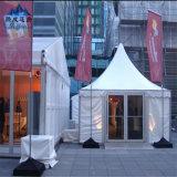 Tiendas impermeables blancas del pabellón del Gazebo de la pagoda de la tela del PVC para la venta