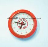 Дешевые миниые часы кварца вводят серебряный малый подарок часов металла