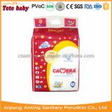 Tecido descartável seco e macio do bebê (tecido do bebê da câmera)