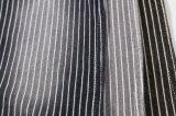 Form-Entwurfs-strickendes Streifen-Denim-Gewebe für Kleid