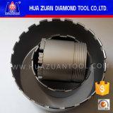 Huazuan 3 parts de béton armé de diamant de faisceau de morceau de foret
