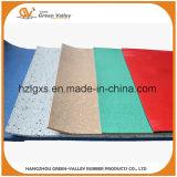 Caucho de goma Rolls de las esteras del suelo antichoque colorido de la gimnasia