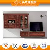 木製の穀物の表面のアルミニウム浴室用キャビネット、浴室の家具