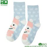 Lovely Snowman tricoté chaussettes personnalisées