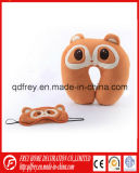 Soem Customized Plush Chicken Neck Cushion mit Eye Mask