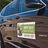 O costume imprimiu ímãs duráveis personalizados da porta de carro