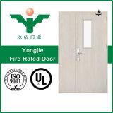 Portes évaluées d'incendie métallique de fournisseur de la Chine avec les meilleurs prix