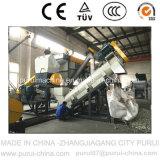 Prodotto non intessuto della plastica pp che ricicla strumentazione (1000kg/Hr)