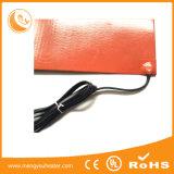 Plaque chaude flexible en caoutchouc portative actionnée solaire de Slicone d'humidité