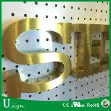 3mm 단단한 스테인리스 금속 편지 표시