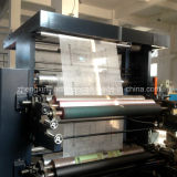 Zxh-C21200 Twee Geweven Stof van de Machine van de Druk van het Letterzetsel van de Kleur de niet