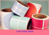 Collant de PVC, étiquette adhésive, collant adhésif d'étiquette de coup, impression d'étiquette, étiquette estampée