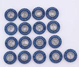 De nieuwste Rhodium van het Zirkoon van de AMERIKAANSE CLUB VAN AUTOMOBILISTEN van het Ontwerp Witte Donkere Halsband van de Tegenhanger van de Brief Aanvankelijke