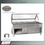 Het Karretje van het Verwarmingstoestel van het Voedsel van de Apparatuur van de keuken