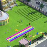 De populaire Plastic OpenluchtBevloering van het Gras voor Sporten