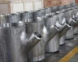 Het de Naadloze Duplex van het Lassen van het Uiteinde JIS/T-stuk van de Montage van de Pijp van het Roestvrij staal