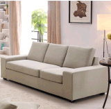 Sofà nordico del tessuto della mobilia del salone
