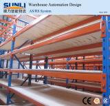 Mittlerer Aufgaben-Lager-Speicher-Stahlladeplatten-Zahnstange