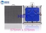 P3 실내 고품질 임대 발광 다이오드 표시 스크린 576*576mm는 정지한다 주조 알루미늄 내각 발광 다이오드 표시 모듈 위원회 (p5 p6 p10)를