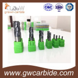 Ausgezeichnete Qualität Karbid-des flachen Kugel-Wekzeugspritzen-Enden-Tausendstels in 4 Flöten für das Prägen von HRC60