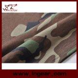 Maglietta tattica militare del cotone della maglietta del manicotto di Short del camuffamento di modo
