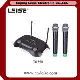 TS998の専門のデュアルチャネルUHFの無線電信のマイクロフォン