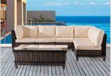 屋外のAluの余暇の家具の藤のソファー