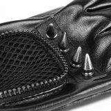 Do comprimento original Mesh+PU do estilo 1/3 do estilo do punk S-214 luvas delicadas do macho