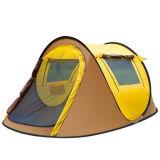 屋外の2人の自動キャンプテントの二重キャンプのボートのテント