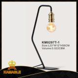 산업 테이블 램프에는 있다 책상 또는 측 테이블 (KM0297T-1)를 위해 완벽한 호리호리한 작은 발자국이