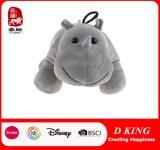 Angefülltes Plüsch-Flusspferd-Spielzeug für Kinder