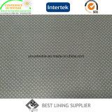 印刷されるポリエステル標準的な人のスーツのライニングパターン中国の製造業者を並べる