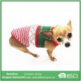 O cão traja a roupa Crocheted Handmade extravagante do filhote de cachorro da roupa do animal de estimação da celebridade