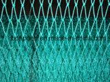 Fibra especial UHMWPE do polietileno da rede de pesca