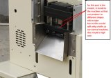 Alta calidad de velcro automática Cortadora de la cinta de la máquina
