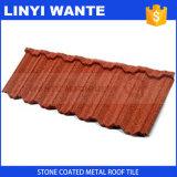 Mattonelle di tetto rivestite di pietra del metallo del Ghana