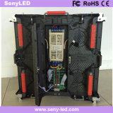 Tela de indicador Rental do diodo emissor de luz do estágio video do desempenho P4.81 para anunciar