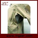 Куртки раковины Parka Sharkskin Hoodie скрытности V4 куртка мягкой водоустойчивой Windproof