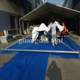 주문을 받아서 만들어진 옥외 닫집 PVC 큰천막 결혼식 천막 5X5 미터