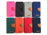Hotsales Goospery Mercury-Kippen-magnetischer Kippen-Deckel-Leder-Kasten 2016 für das iPhone 6 Plus